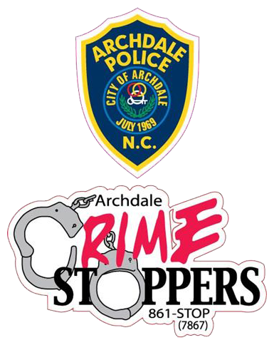 Archdale Police Crime Stoppers 861-STOP