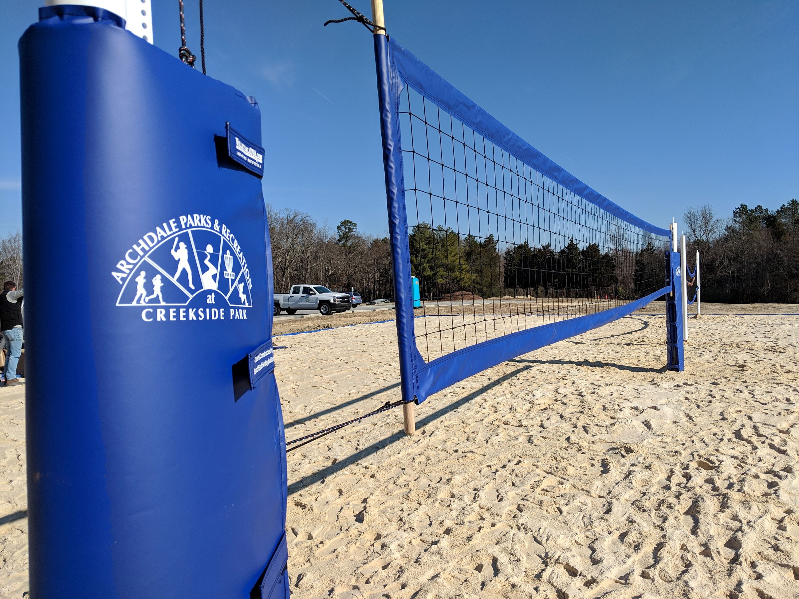 Sand Courts close up