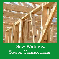New Water and Sewer Connections Services