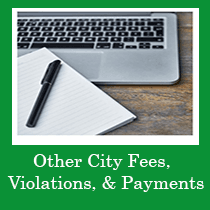 Other City Fees, Violations, and Payments Icon
