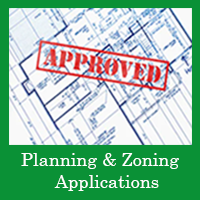 Planning and Zoning Applications