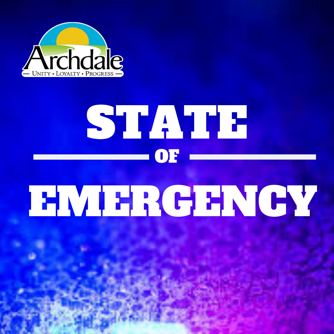 Archdale State of Emergency